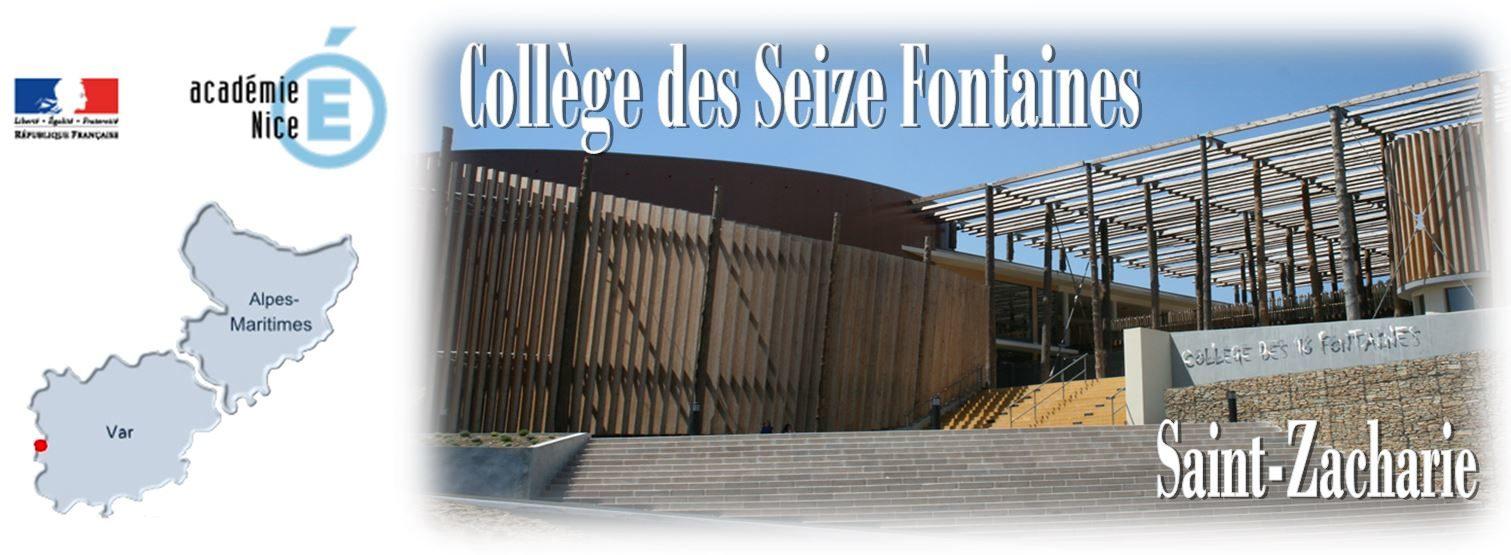 Collège des Seize Fontaines à Saint-Zacharie